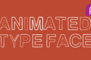 Animated Typeface