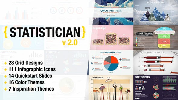 Statistician - Massive Info Graphics Kit