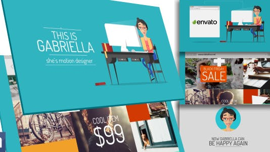 Promote Your Product or Service with Gabriella