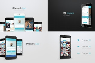 Iphone 6 App Presentation Kit