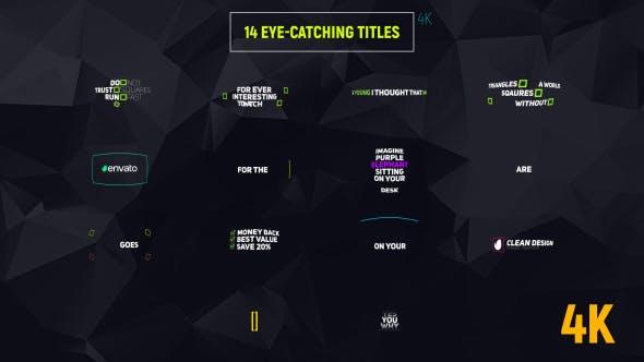 14 Eye-catching Titles