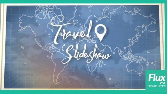 Map Travel Slideshow