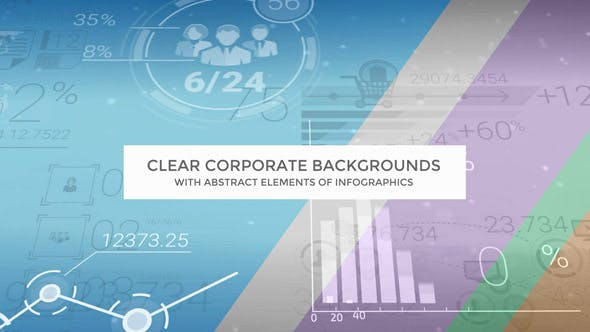 Clear Corporate Backgrounds