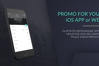iPhone Web / App Promo