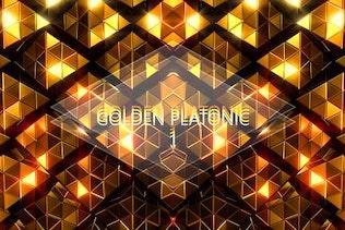 Golden Platonic 1