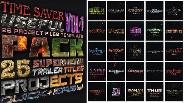 Avengers SuperHeroes Pack