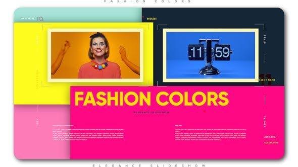 Fashion Colors Elegance Slideshow