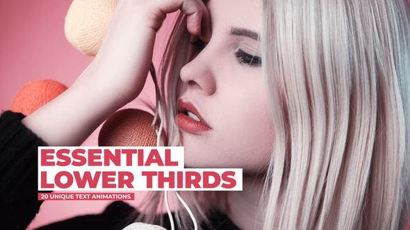 Essential Lower Thirds