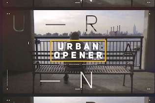 Urban Opener / Dynamic Slideshow / Hip-Hop Lifestyle / Cities and Streets