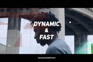 Dynamic Glitch Creative Intro