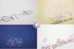 Sketch Logo Build