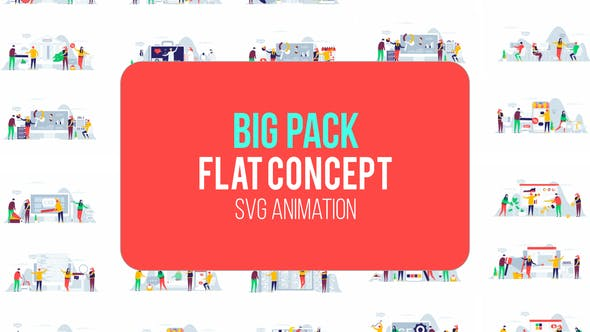 Big Pack Of Flat Concept