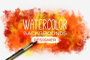 Watercolor Background Designer