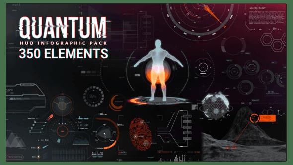 Quantum HUD Infographic