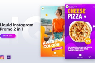 Liquid Instagram Promo 2 in 1
