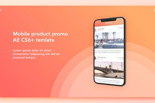 Mobile Product Promo