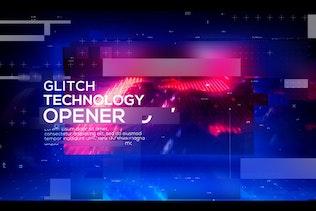 Technology Glitch Opener
