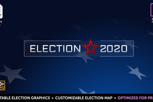 Election Essentials 2020 | MOGRT for Premiere