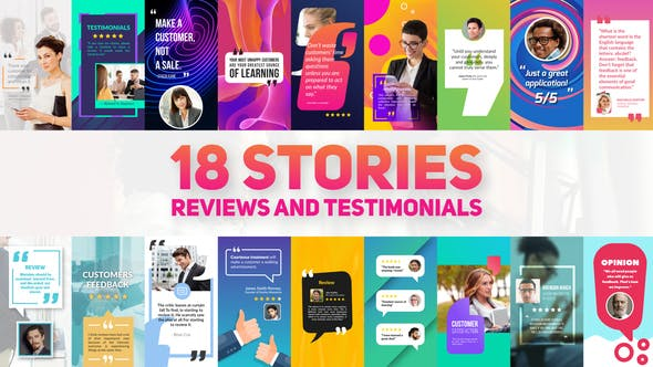 Reviews And Testimonials Insta Pack