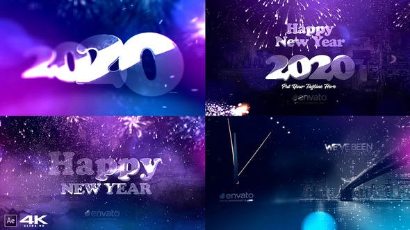 New Year Countdown 2020