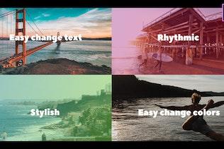 Don't Wink Typographic Intro - Mogrt