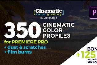 Cinematic Color Presets - Premiere Pro