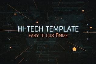 Tech Glitch Trailer Titles