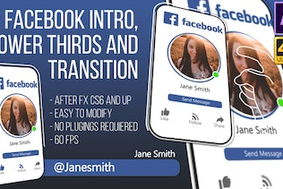 Facebook Intro and Lowerthird (AfterFX)