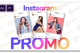 Instagram Channel Promo Slideshow
