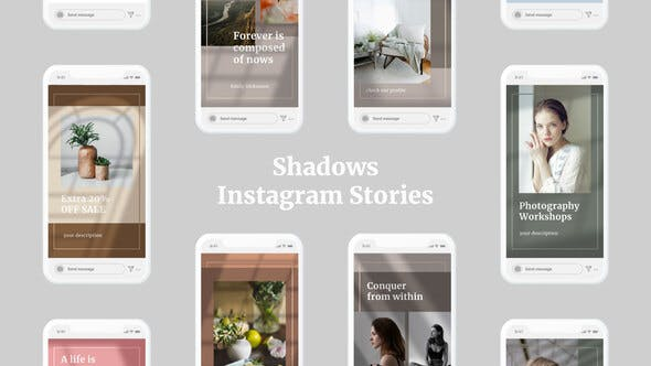 Shadows Instagram Stories