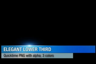 Elegant Lower Third